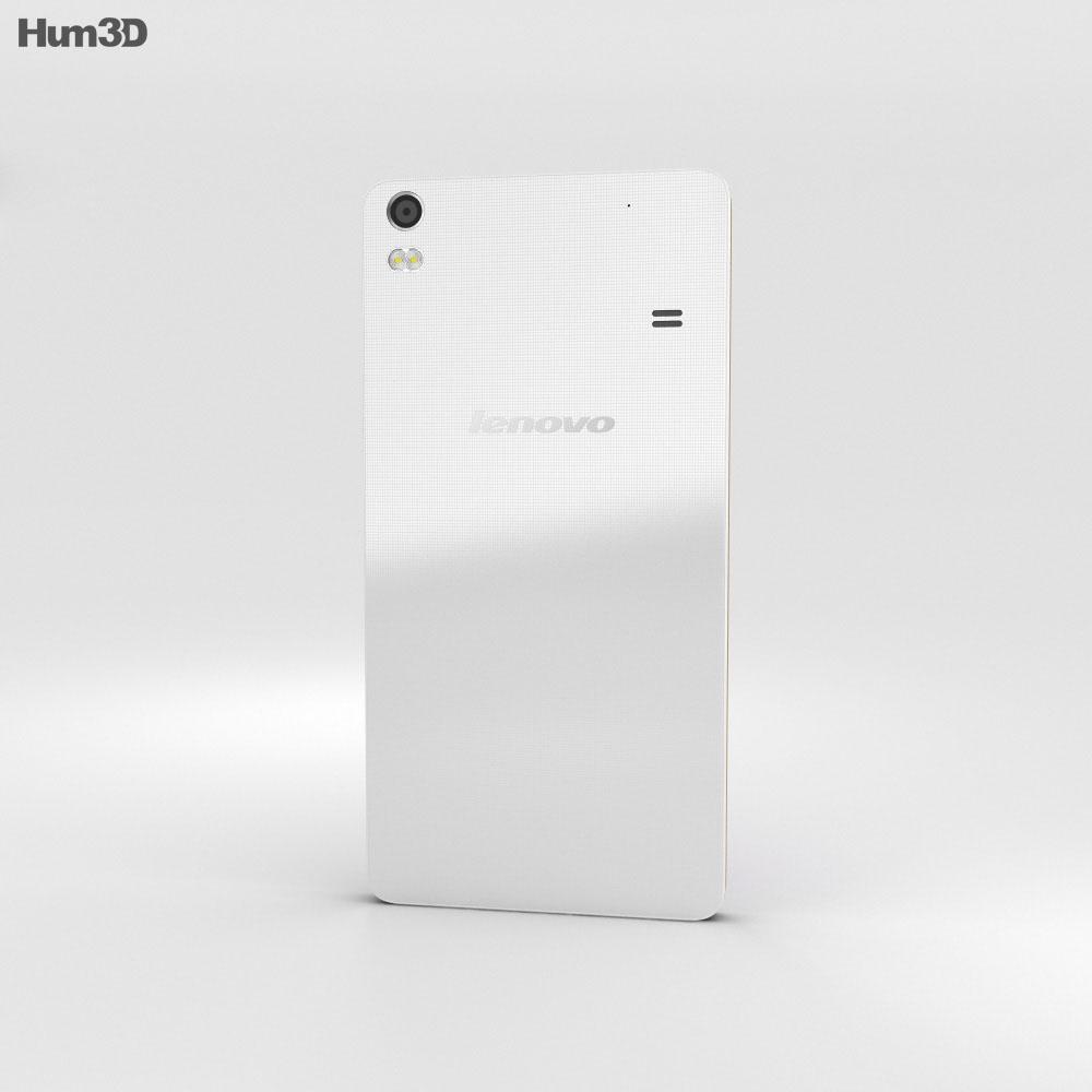 Lenovo Golden Warrior S8 White 3d model