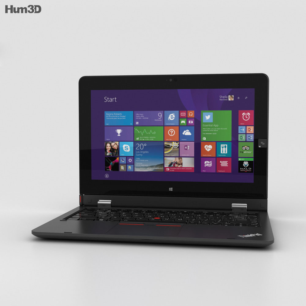 Lenovo ThinkPad Helix 2nd Gen 3d model
