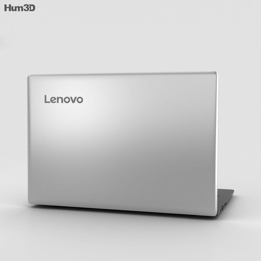 Lenovo Ideapad 100S Silver 3d model