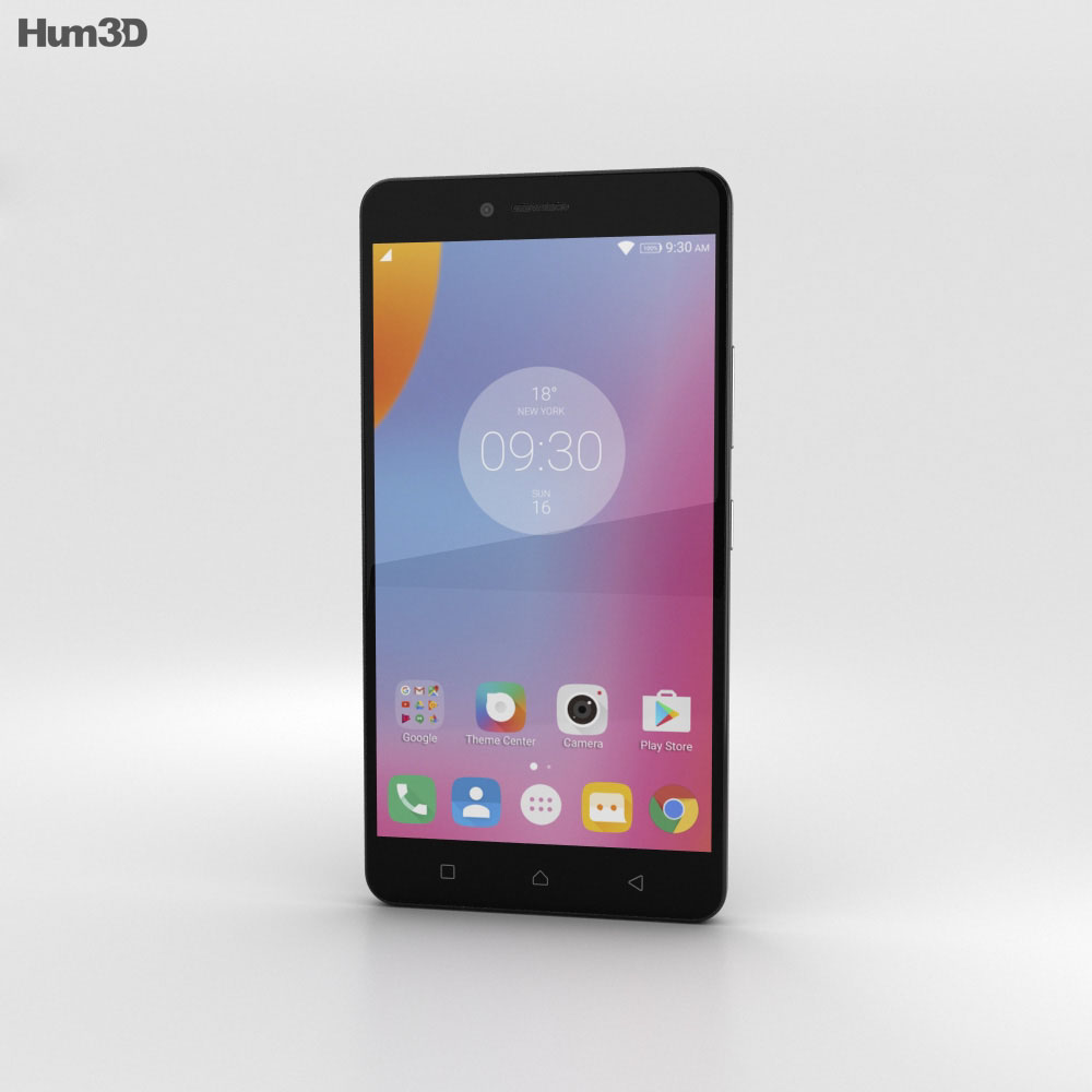 Lenovo K6 Note Dark Grey 3d model