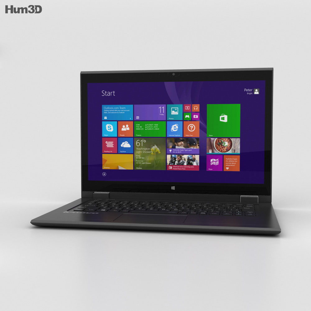 Lenovo LaVie Z HZ750 3d model