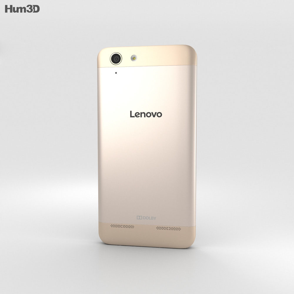 Lenovo Lemon 3 Gold 3d model