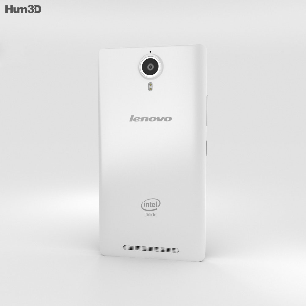 Lenovo P90 Pearl White 3d model