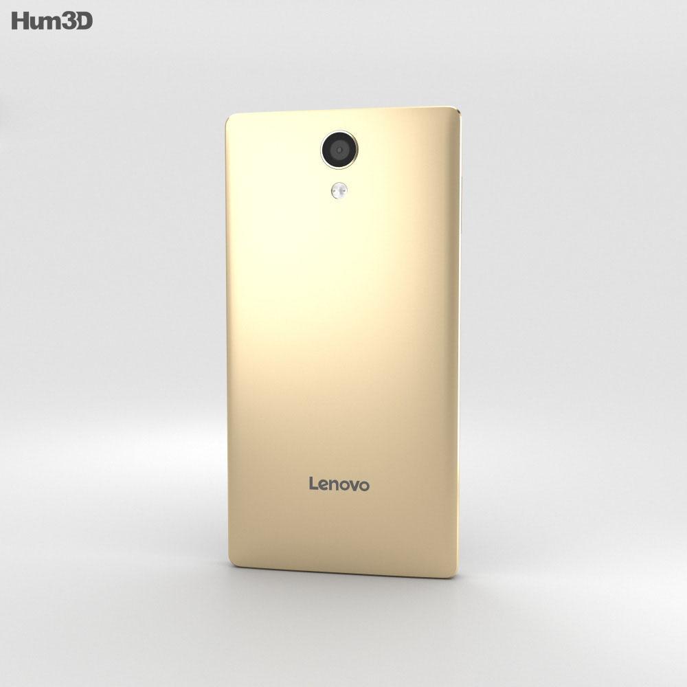 Lenovo Phab 2 Champagne Gold 3d model