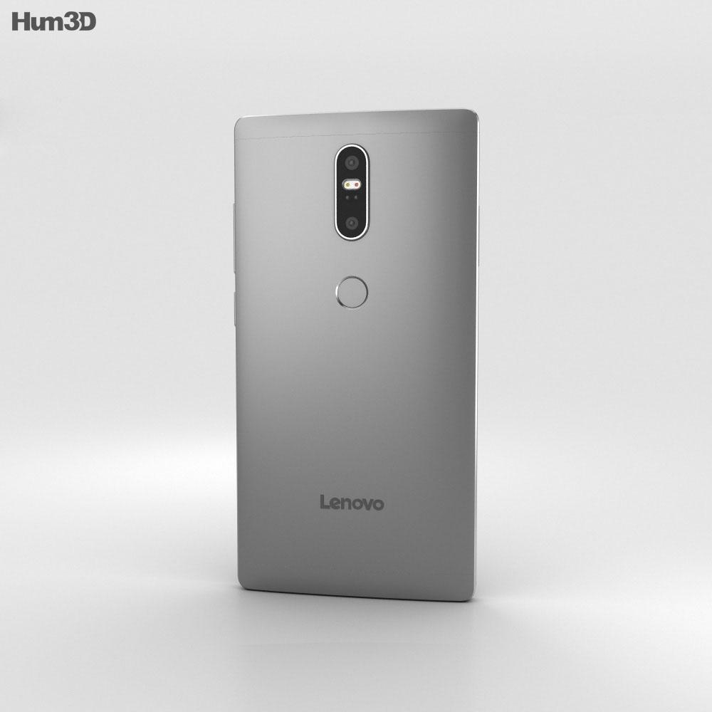 Lenovo Phab 2 Plus Gunmetal Grey 3d model