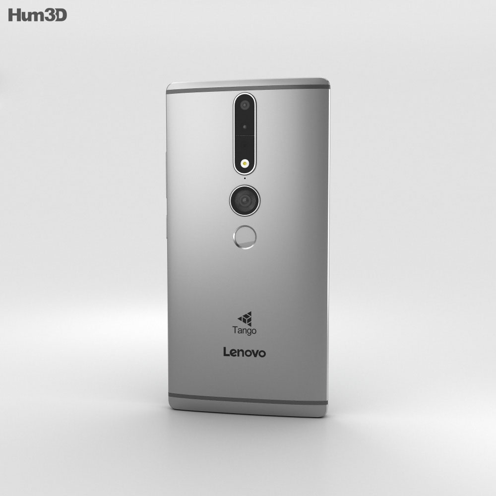 Lenovo Phab 2 Pro Gunmetal Grey 3d model