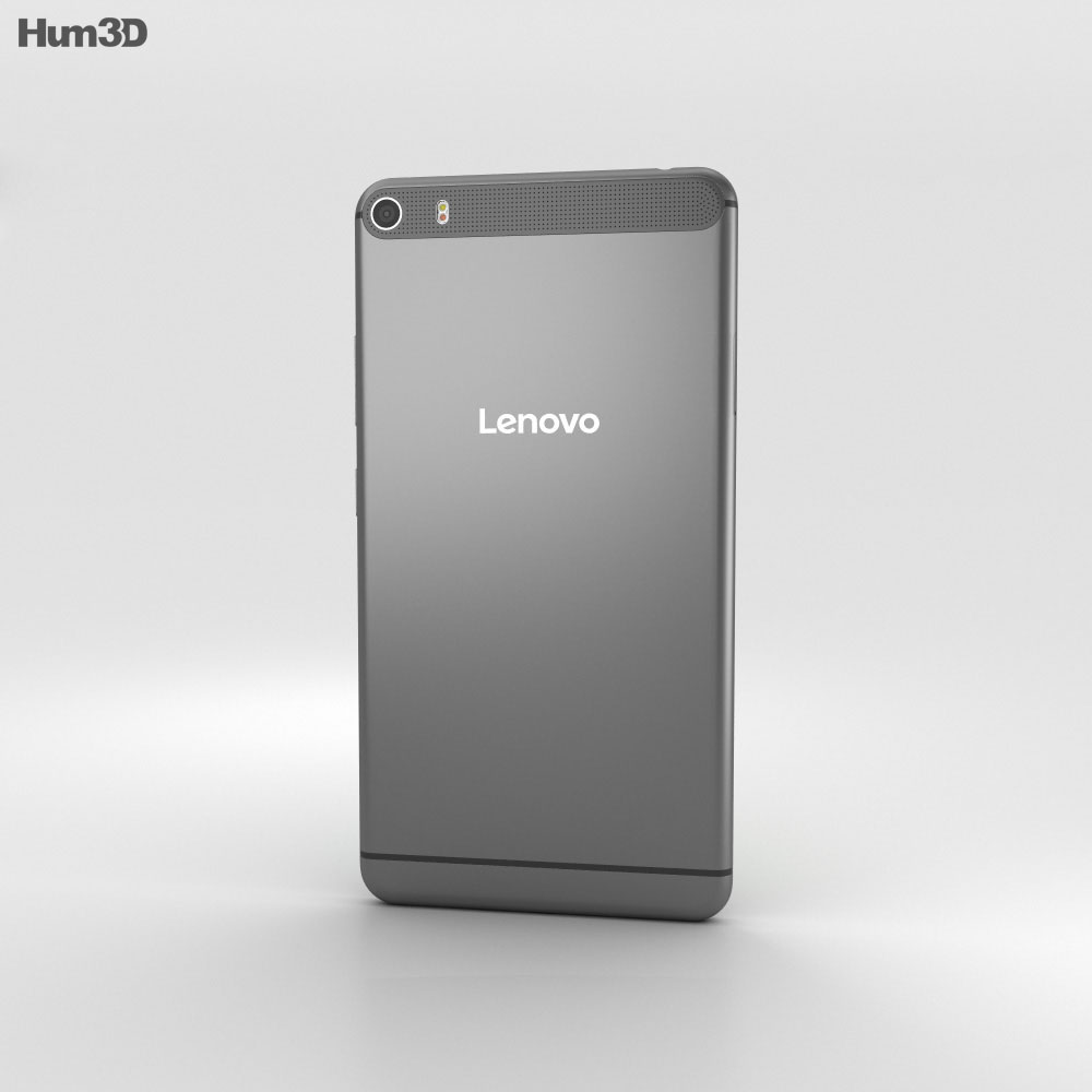 Lenovo Phab Plus Gunmetal Grey 3d model