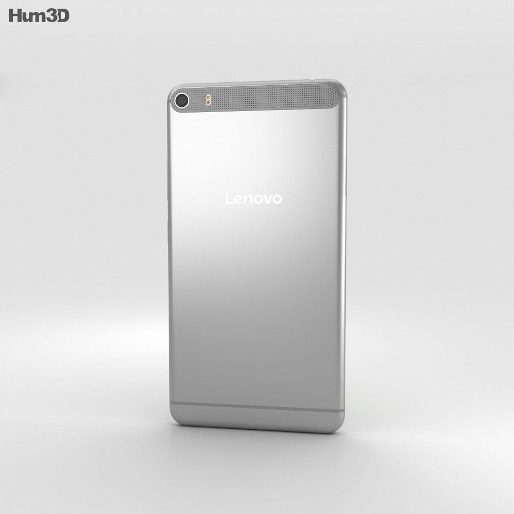 Lenovo Phab Plus Titanium Silver 3d model