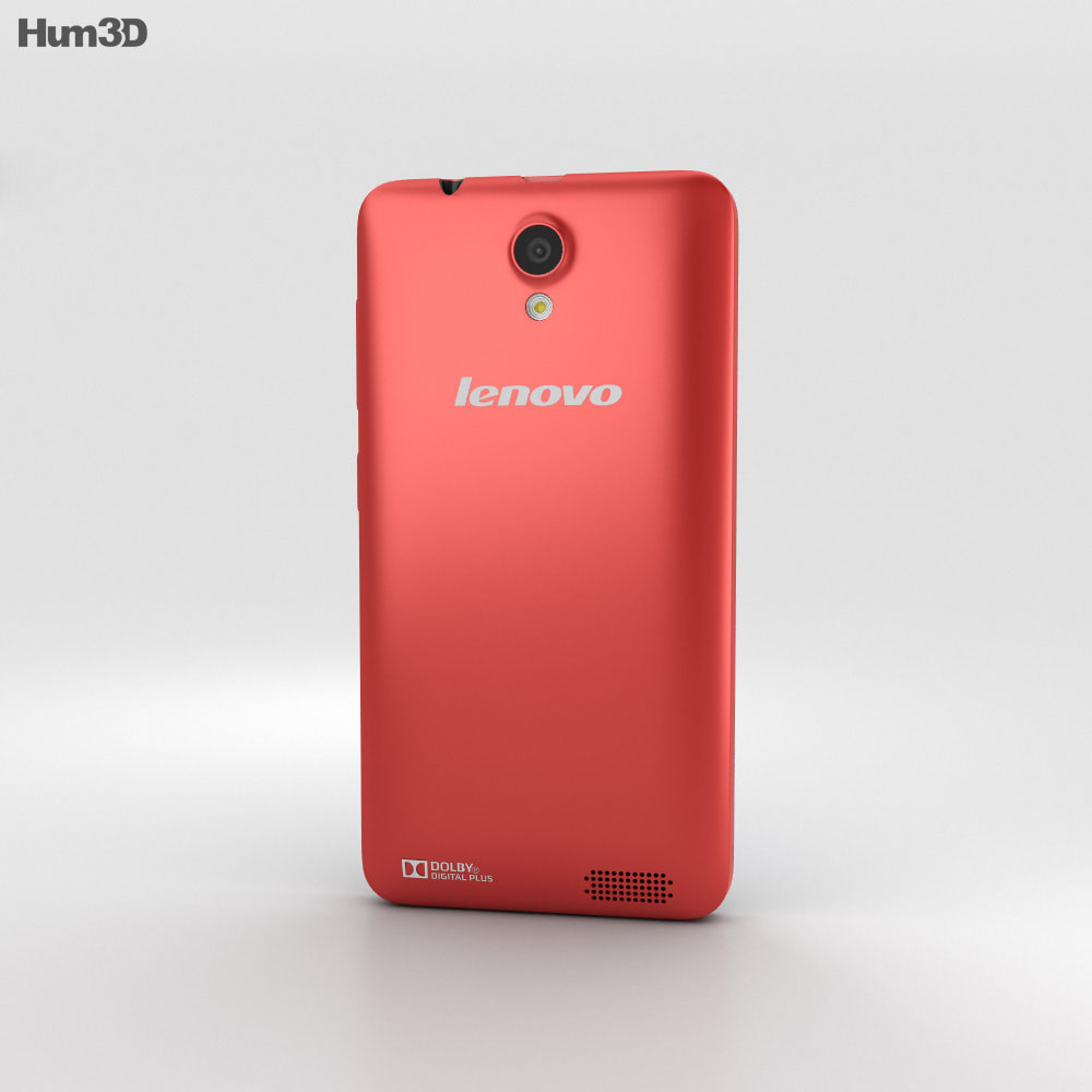 Lenovo RocStar A319 Red 3d model