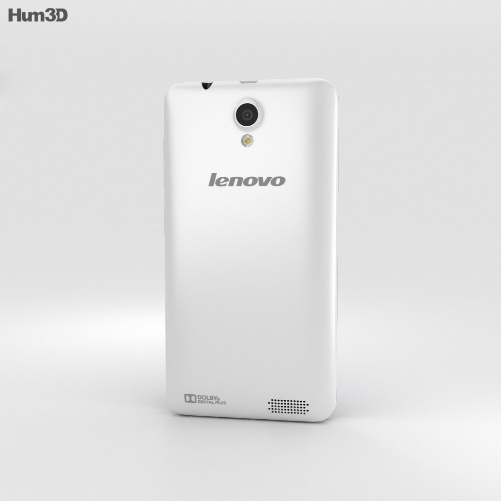 Lenovo RocStar A319 White 3d model