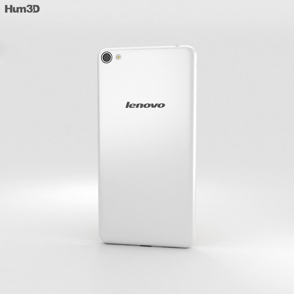 Lenovo S60 Pearl White 3d model