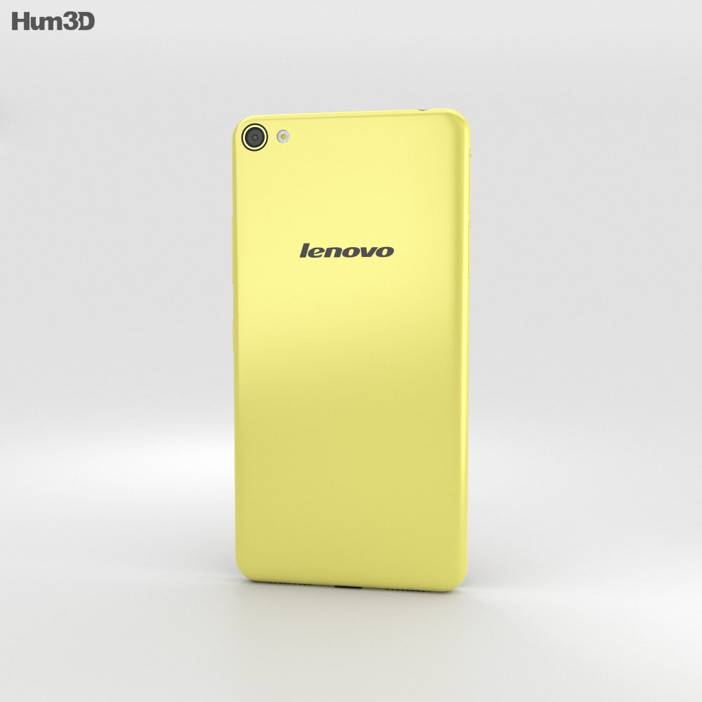 Lenovo S60 Yellow 3d model