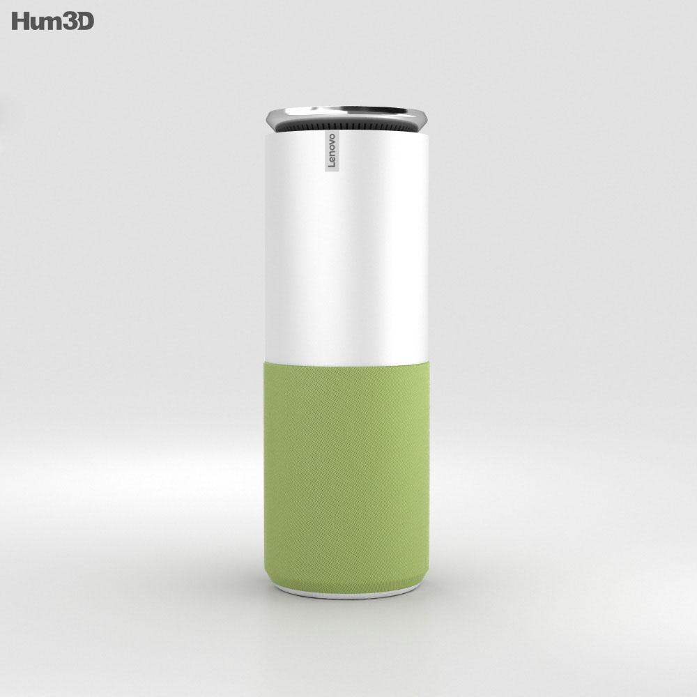 Lenovo Smart Assistant Green 3d model