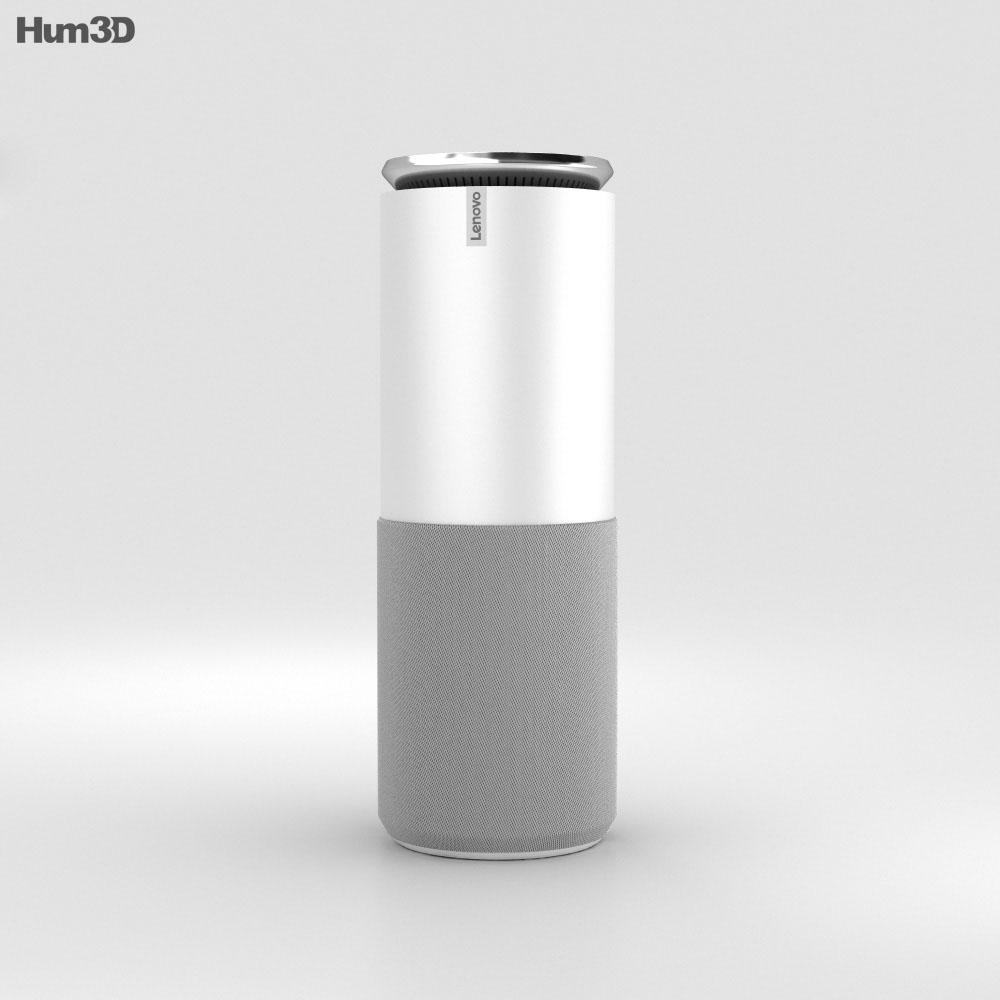 lenovo smart assistant light gray 3d model hum3d. Black Bedroom Furniture Sets. Home Design Ideas
