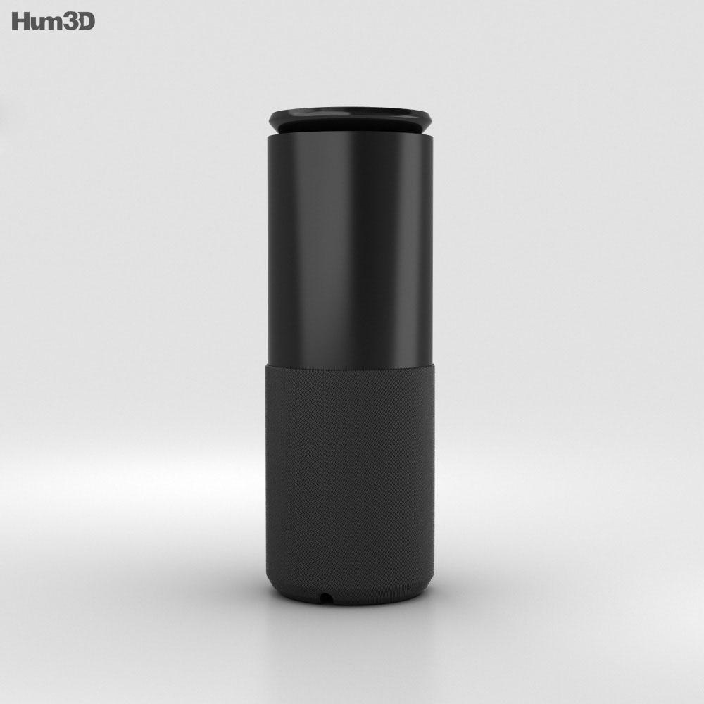 Lenovo Smart Assistant Matte Black 3d model