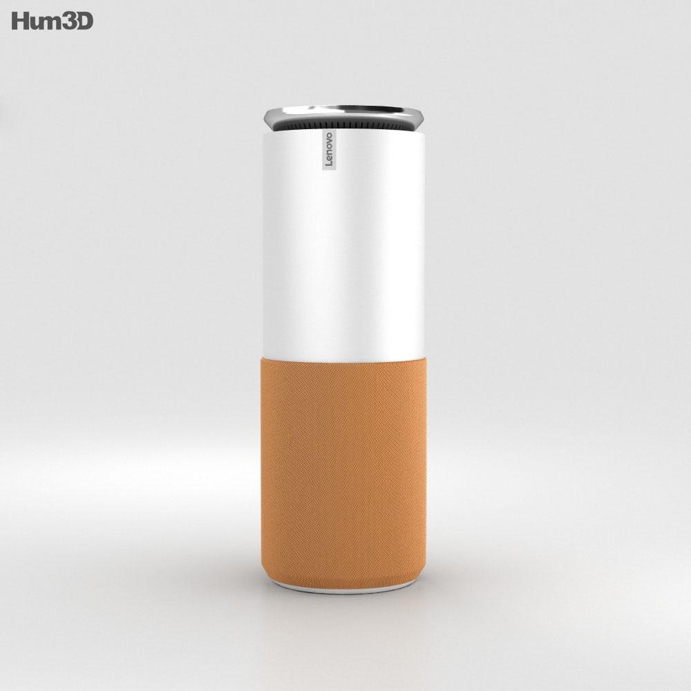 Lenovo Smart Assistant Orange 3d model