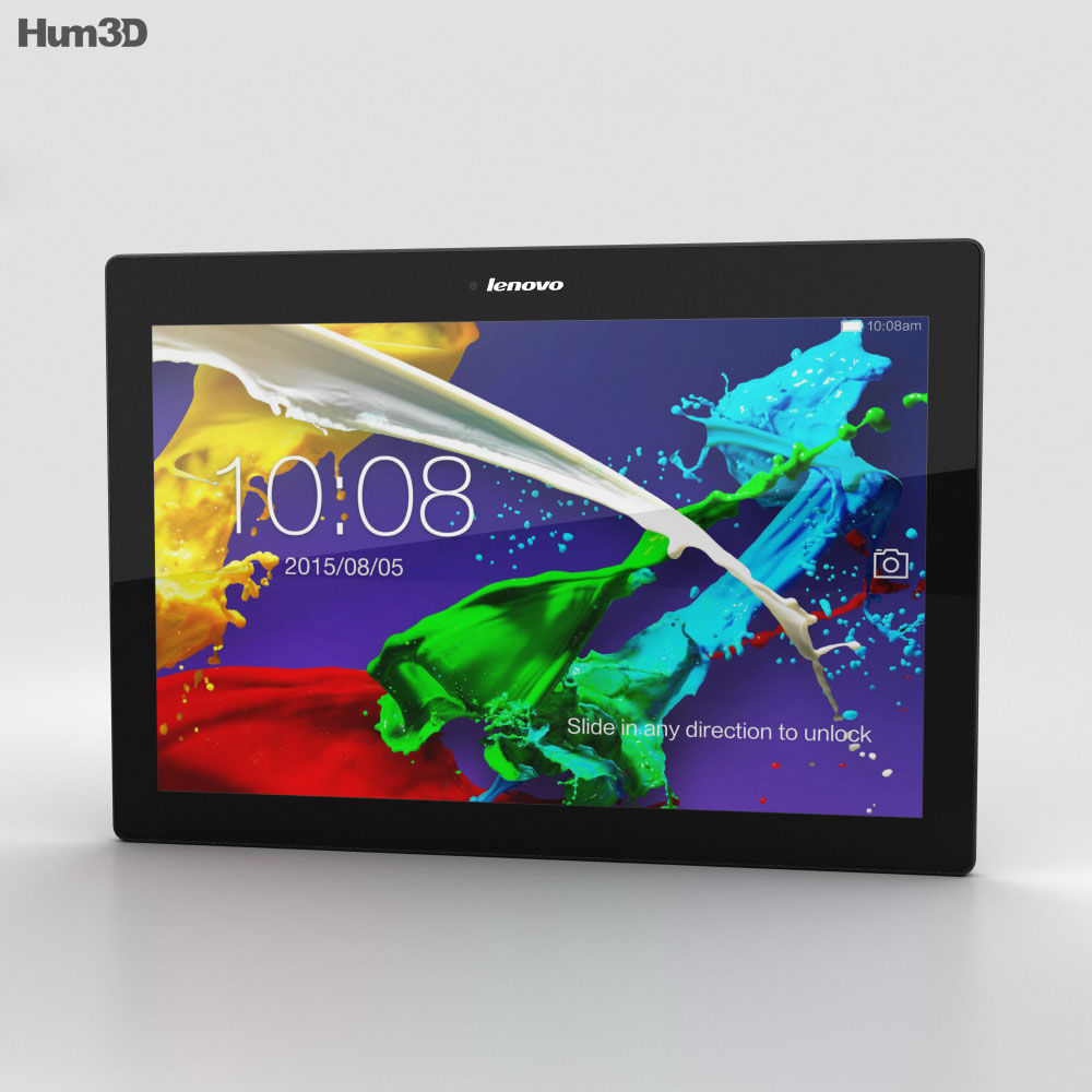 Lenovo Tab 2 A10-70 Midnight Blue 3d model