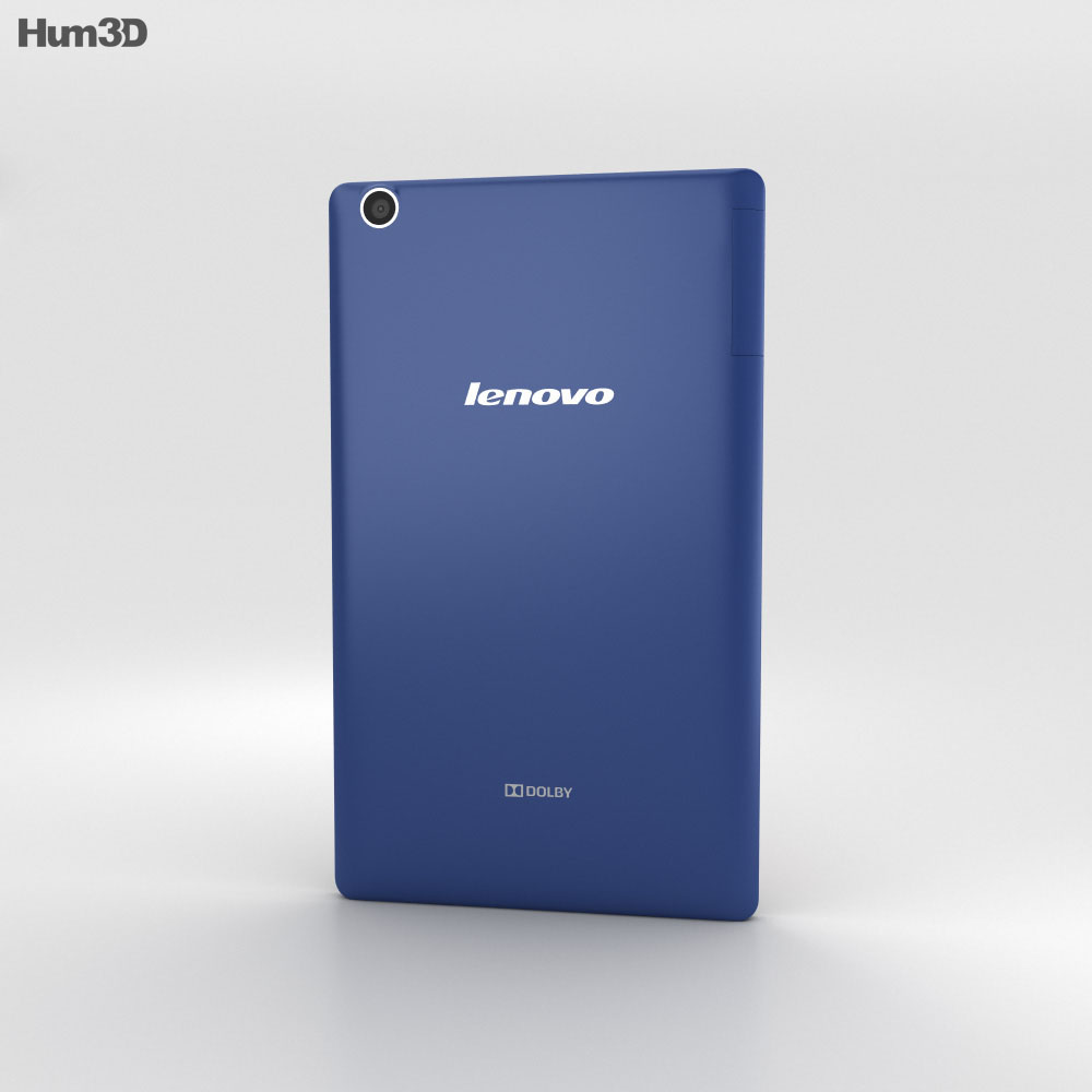 Lenovo Tab 2 A8 Midnight Blue 3d model