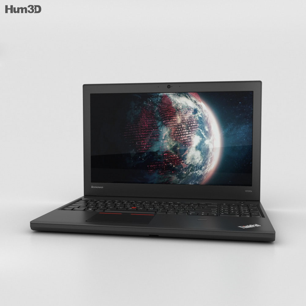 Lenovo ThinkPad W550s 3d model