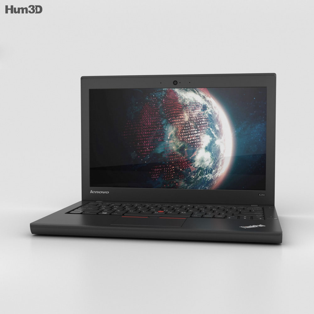 Lenovo ThinkPad X250 3d model