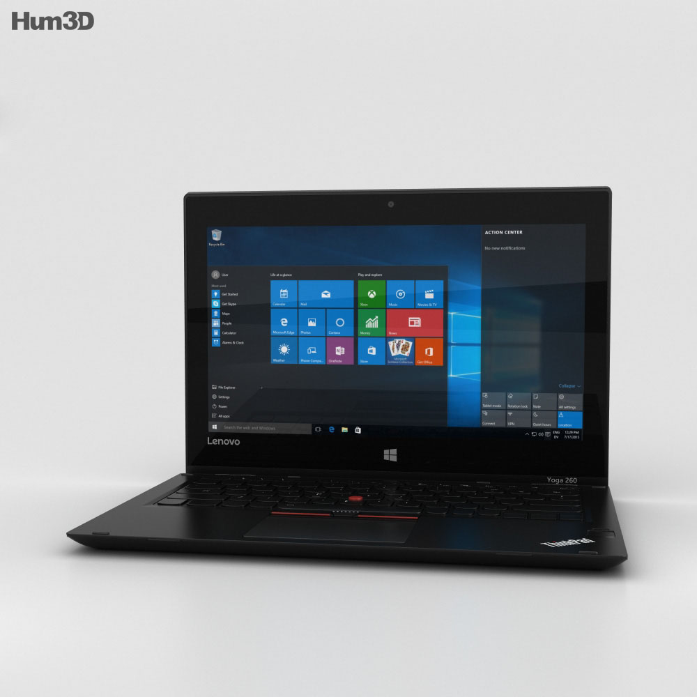 Lenovo ThinkPad Yoga 260 3d model