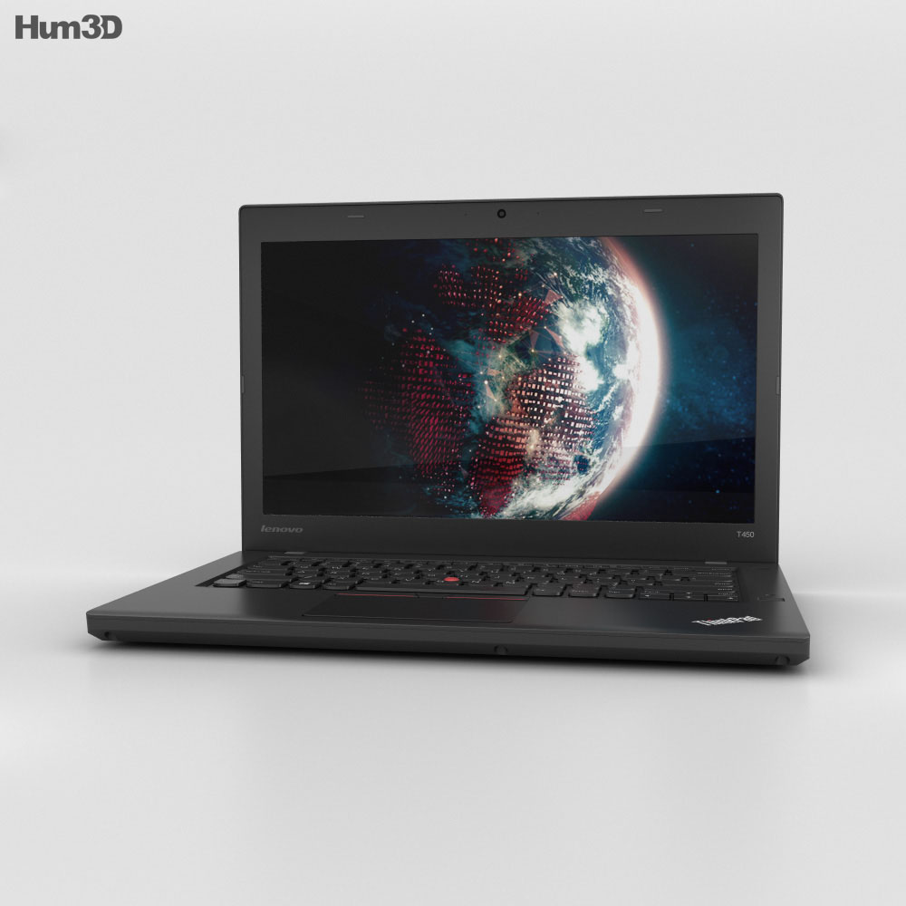 Lenovo Thinkpad T450 3d model