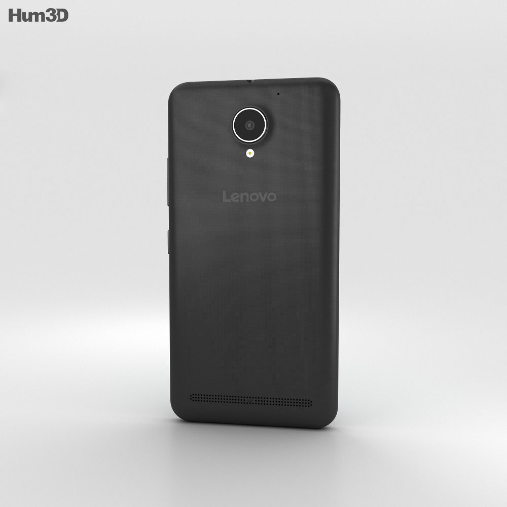 Lenovo Vibe C2 Black 3d model