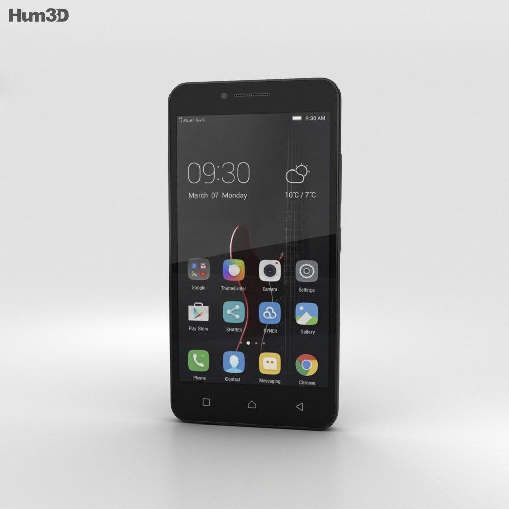 Lenovo Vibe C Black 3d model