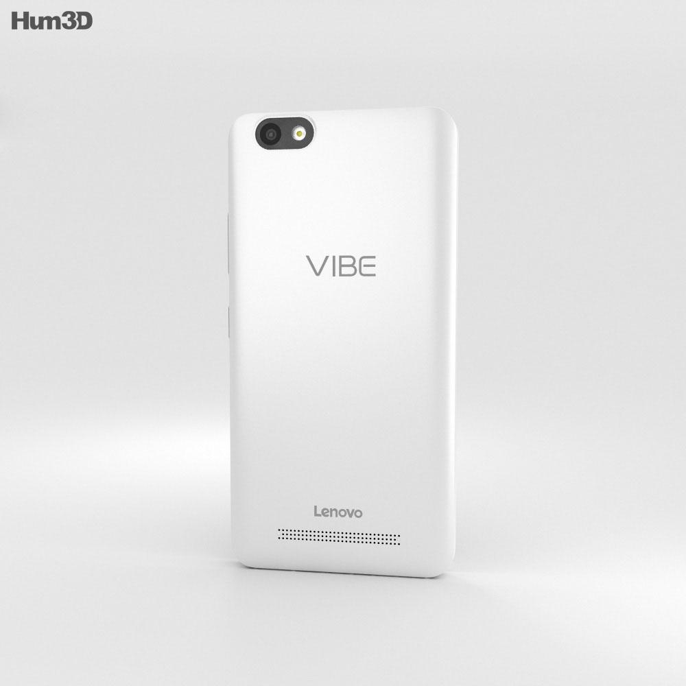 Lenovo Vibe C White 3d model