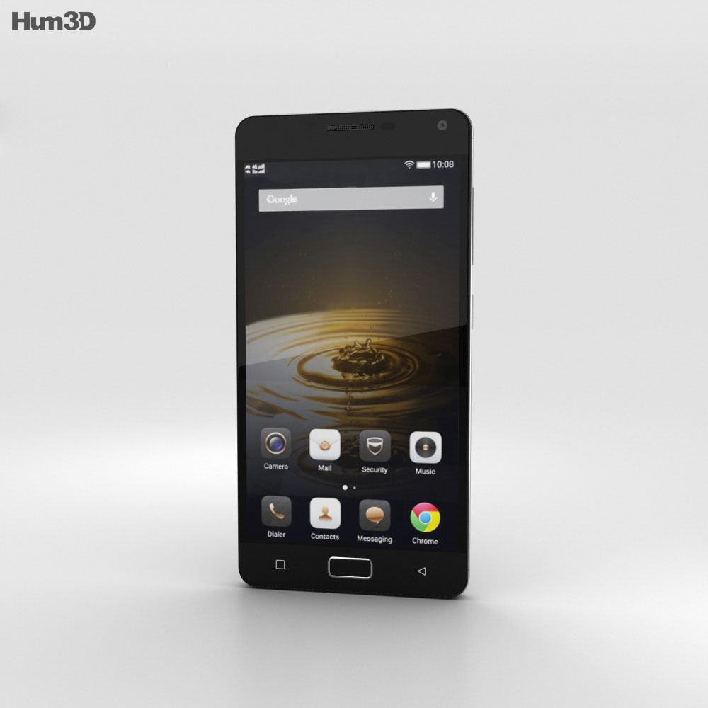 Lenovo Vibe P1 Graphite Grey 3d model