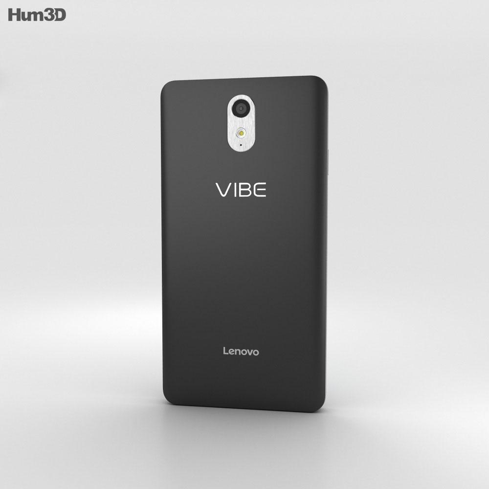 Lenovo Vibe P1m Onyx Black 3d model