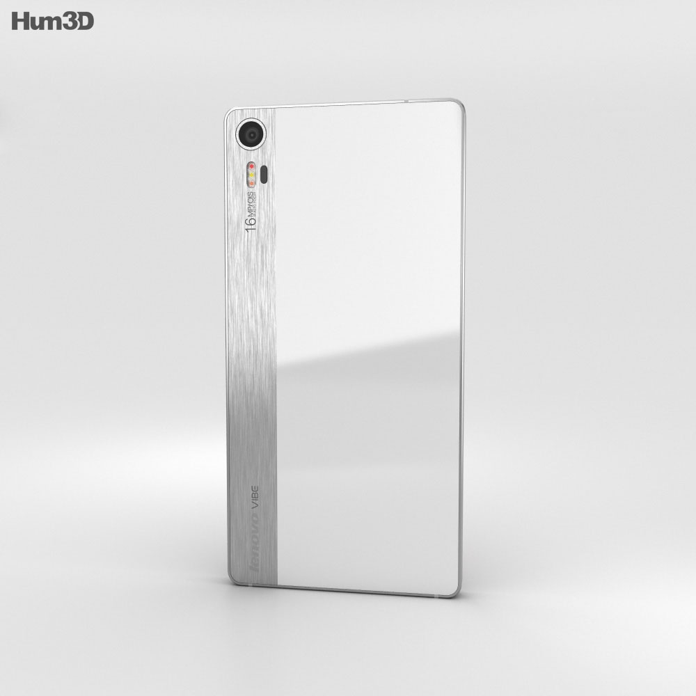 Lenovo Vibe Shot Pearl White 3d model