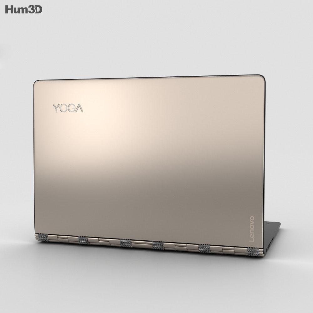 Lenovo Yoga 900 Champagne 3d model