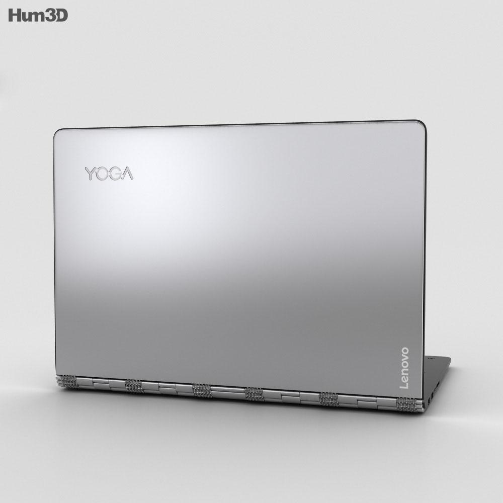 Lenovo Yoga 900 Silver 3d model