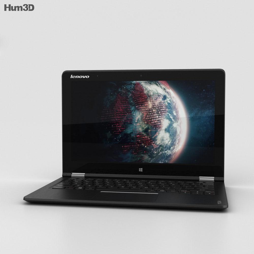 Lenovo Yoga Tablet 3 11 inch Black 3d model