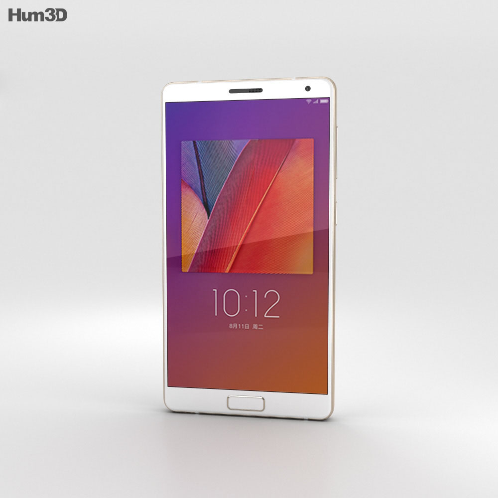 Lenovo ZUK Edge Ceramic White 3d model