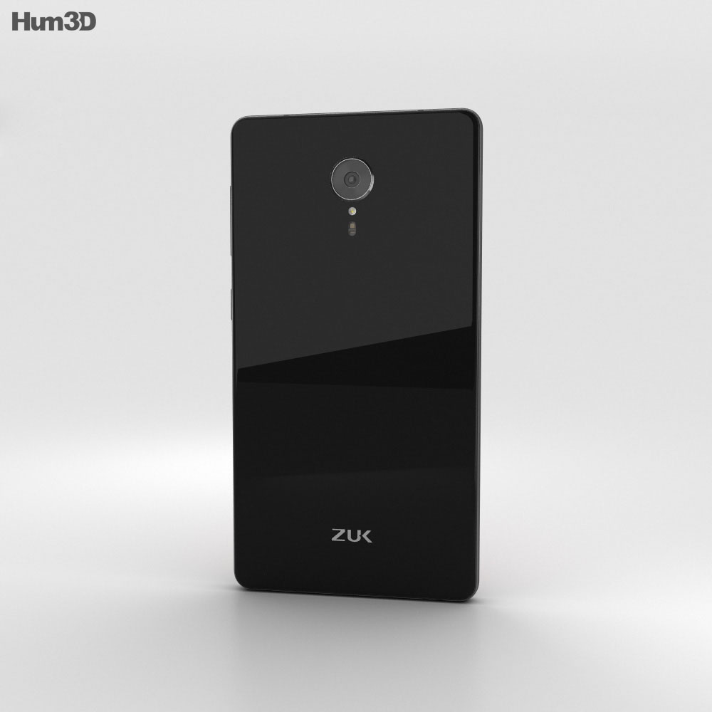Lenovo ZUK Edge Titanium Black 3d model