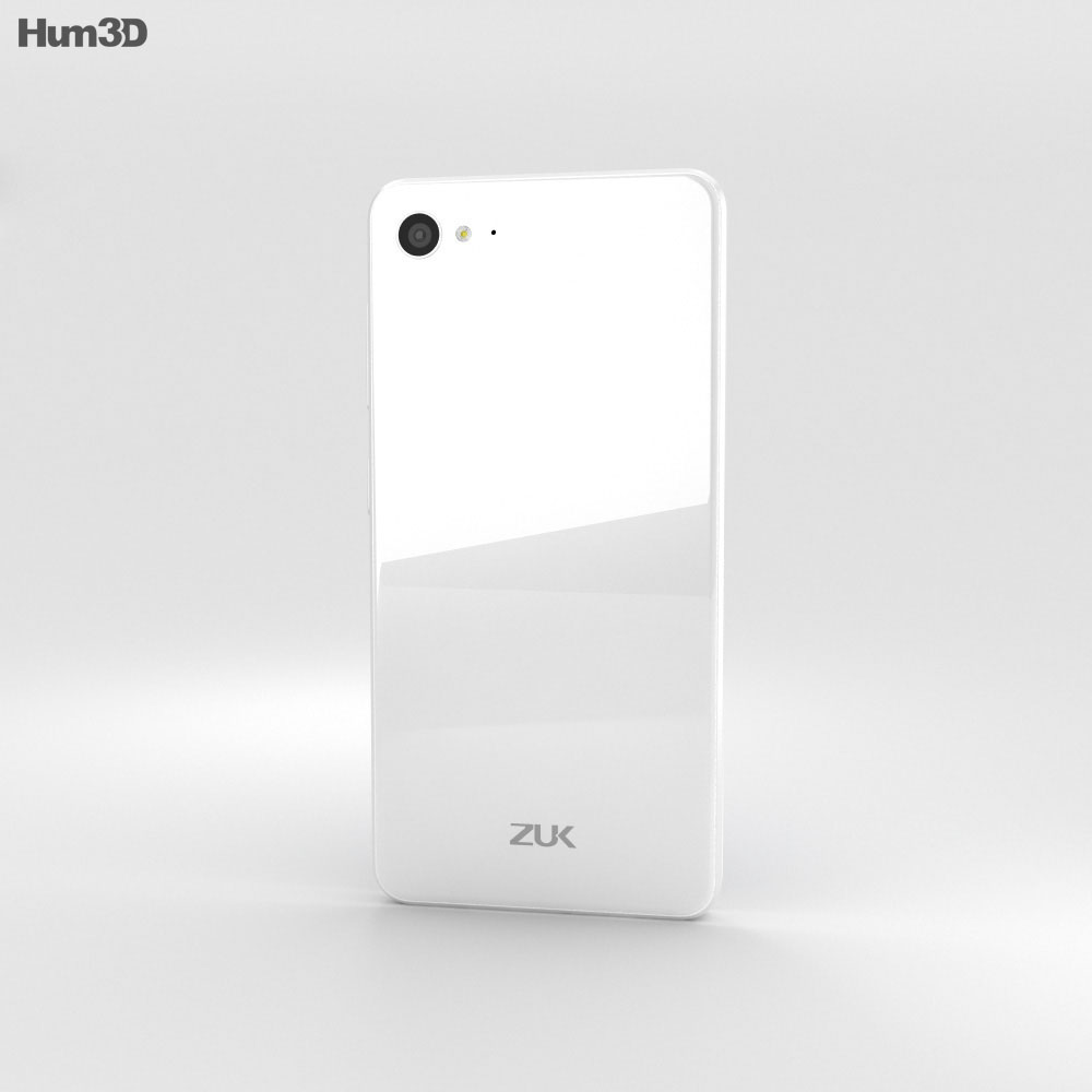 Lenovo ZUK Z2 Ceramic White 3d model