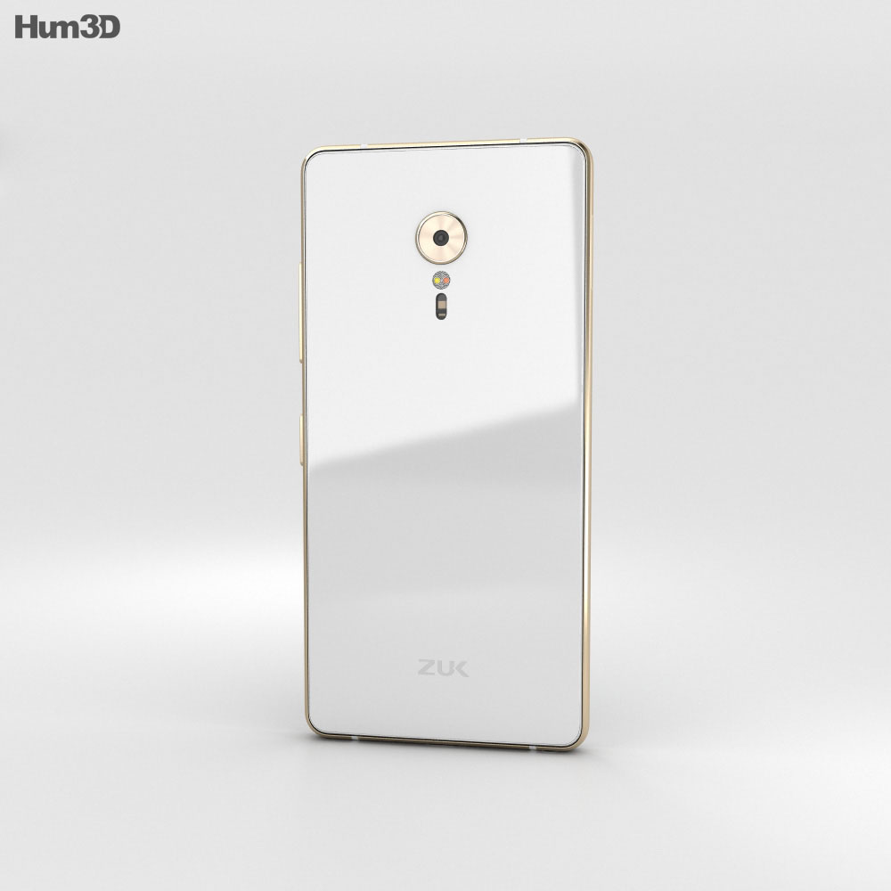Lenovo ZUK Z2 Pro Ceramic White 3d model