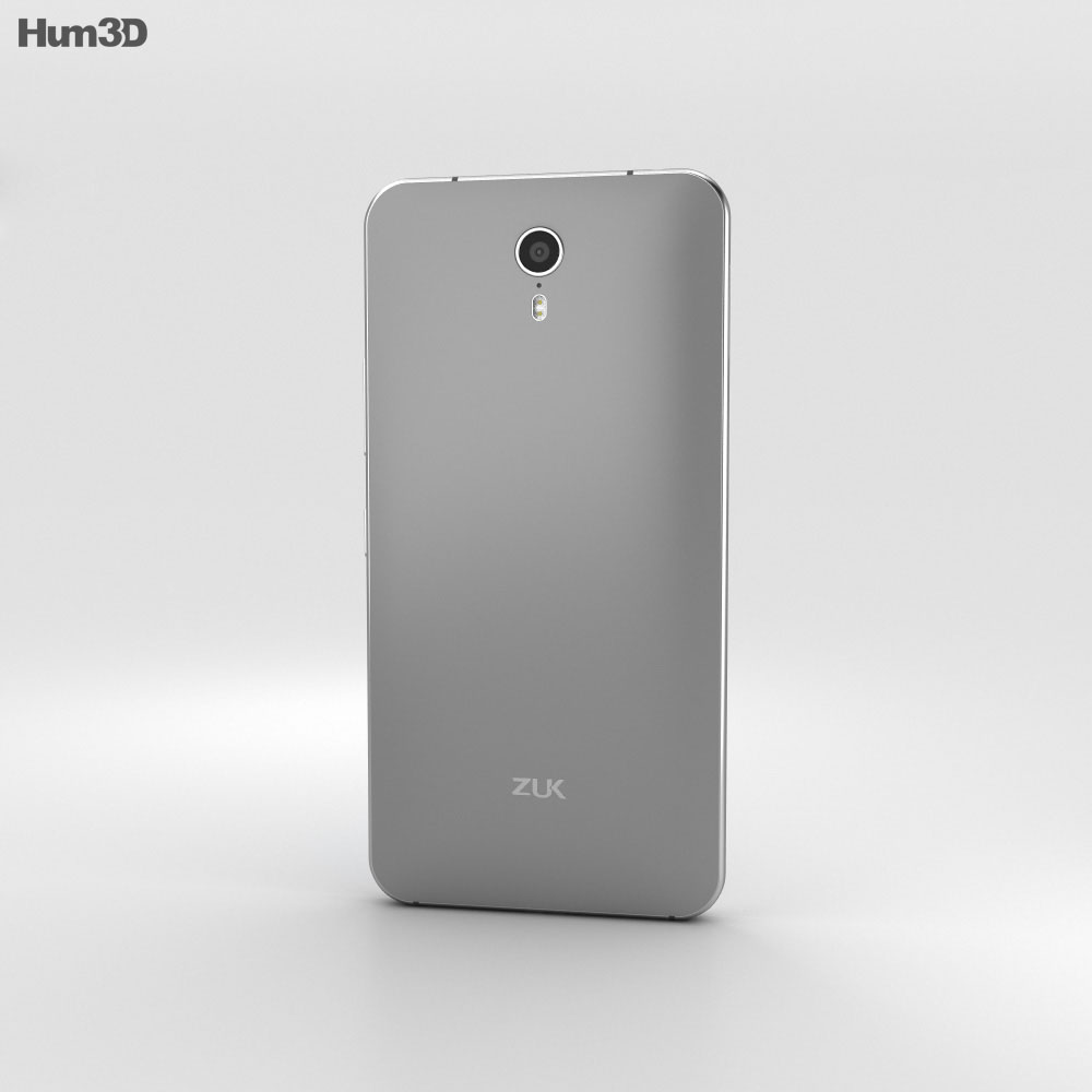 Lenovo Zuk Z1 Dark Gray 3d model