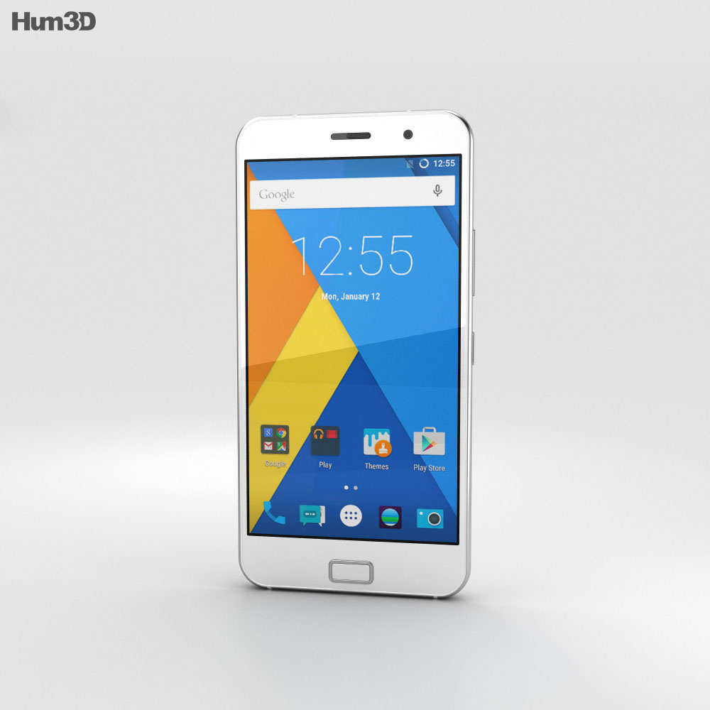 Lenovo Zuk Z1 White 3d model
