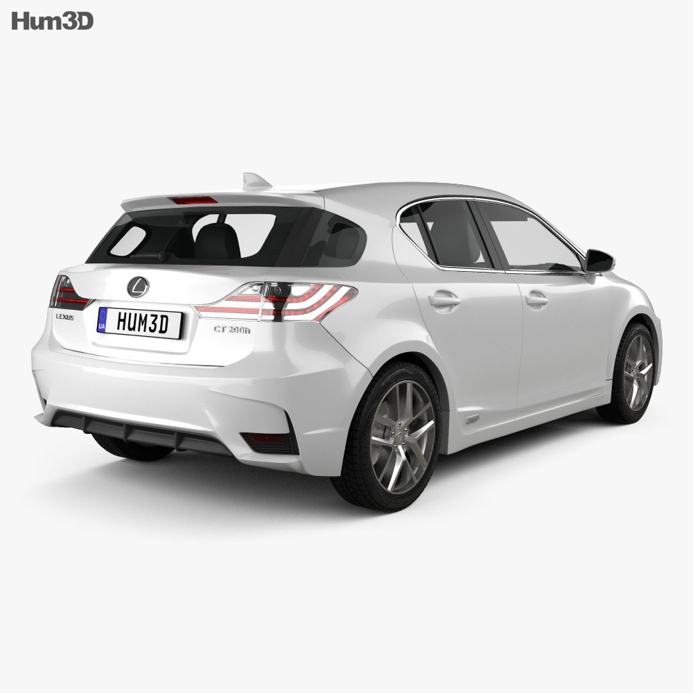 Lexus CT 2014 3d model