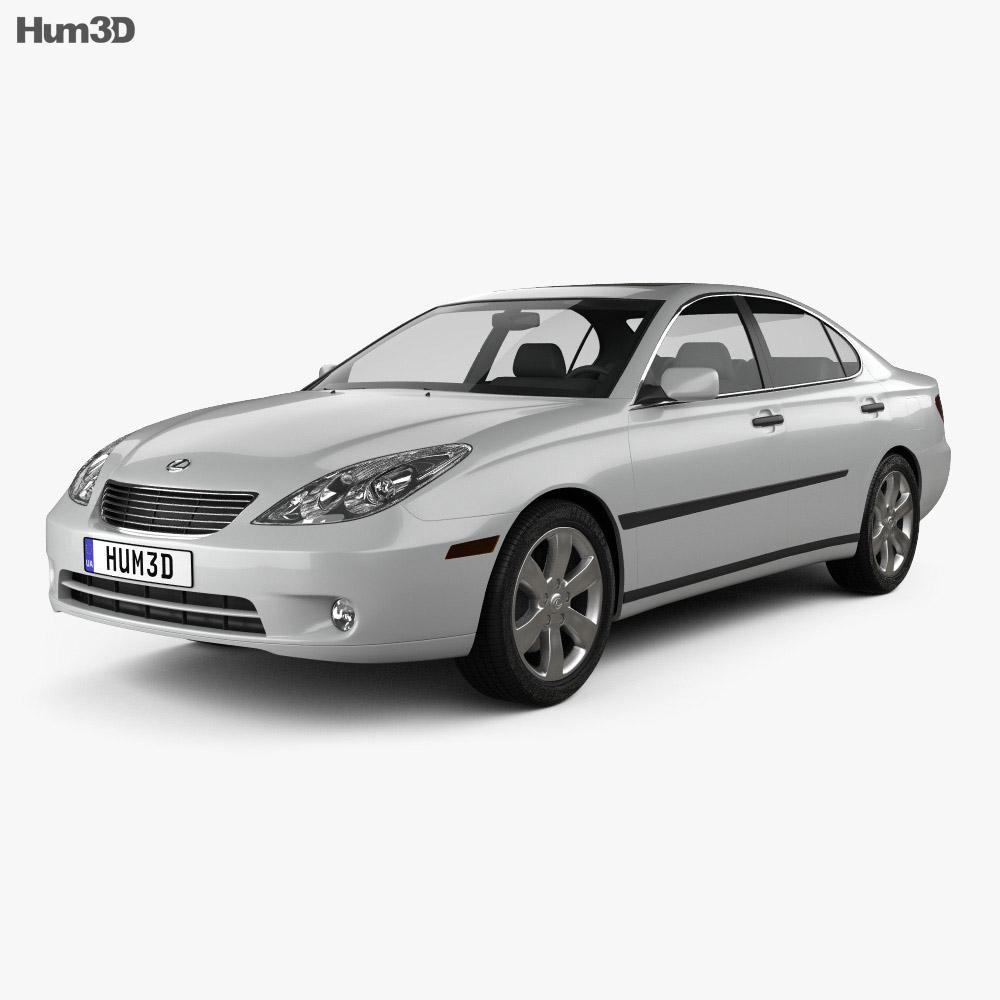Lexus ES 2004 3d model