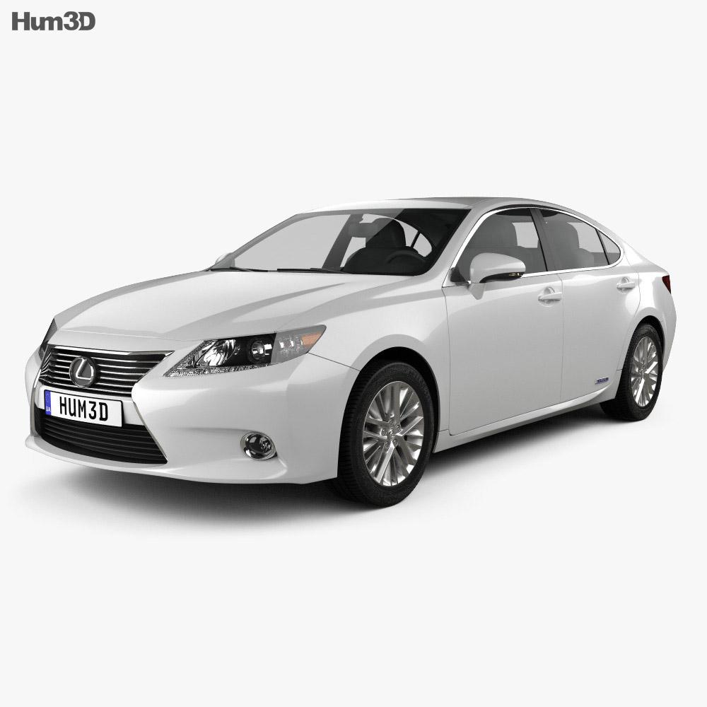 Lexus ES hybrid (XV50) 2013 3d model