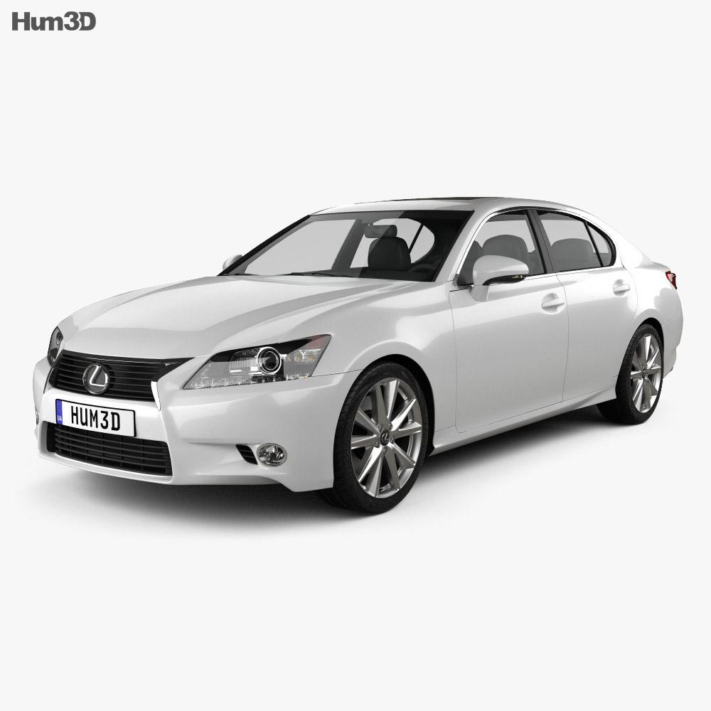 Lexus GS 2012 3d model