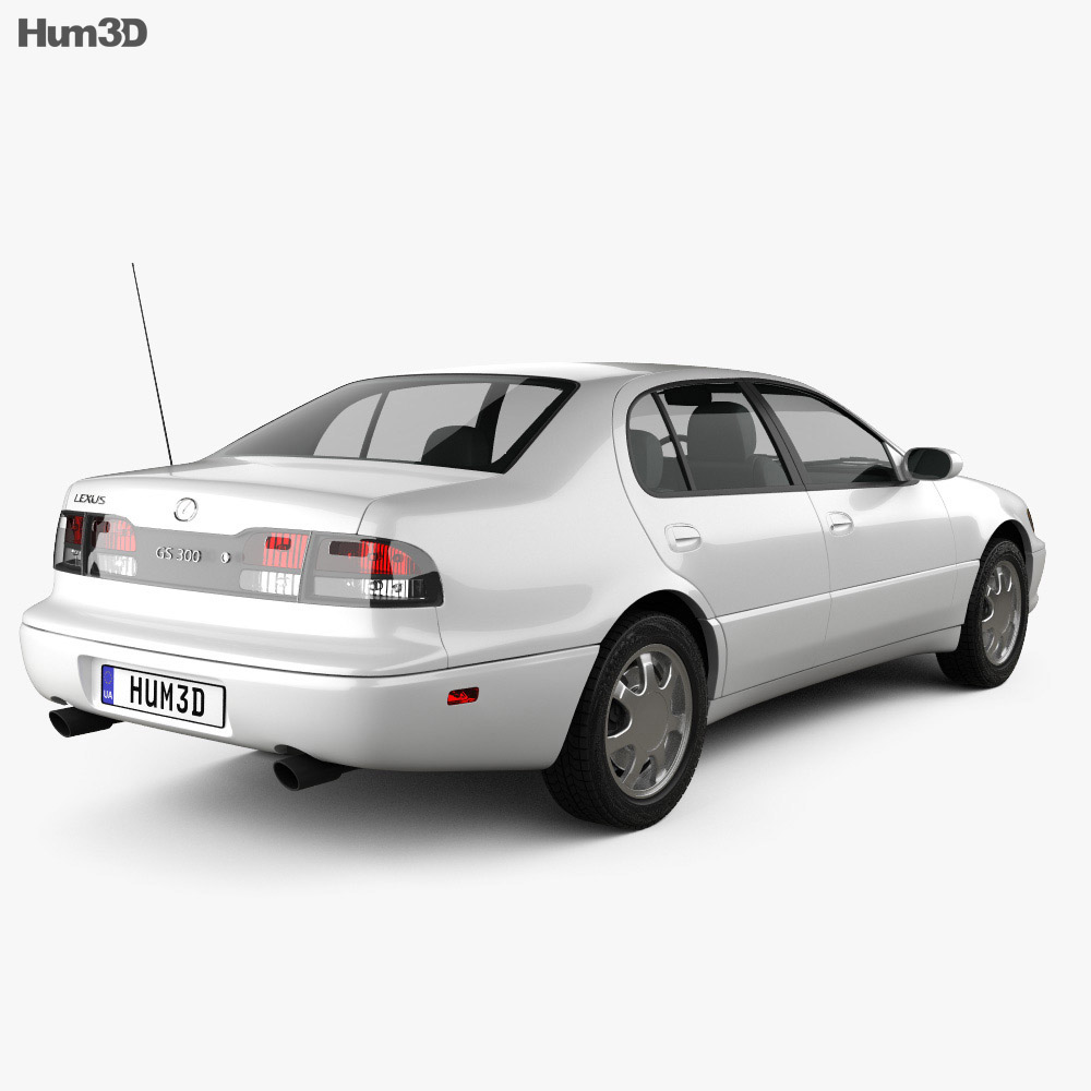 Lexus GS (S140) 1996 3d model