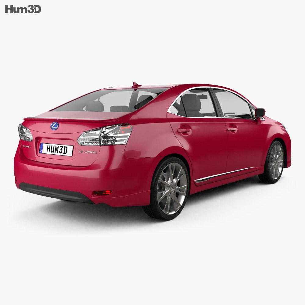 Lexus HS 2010 3d model