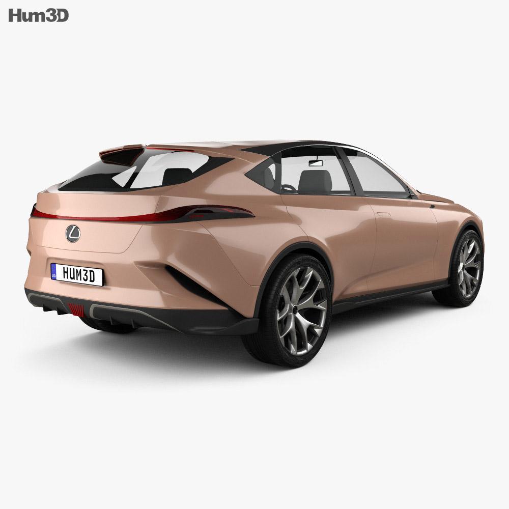 Lexus LF-1 Limitless 2018 3d model
