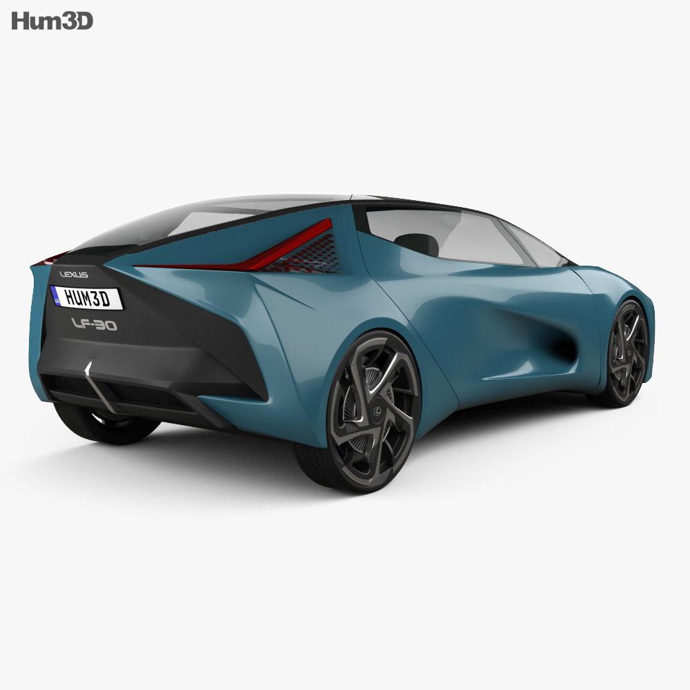 Lexus LF-30 Electrified 2019 3d model