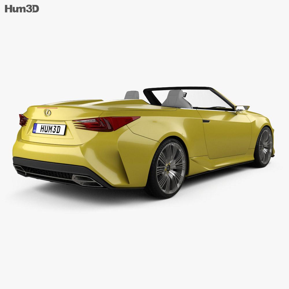 Lexus 2014: Lexus LF-C2 2014 3D Model